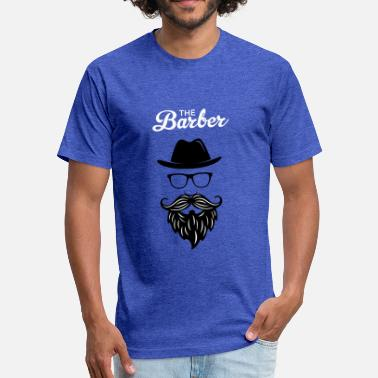 Barber Swag The Barber - Fitted Cotton/Poly T-Shirt by Next Level