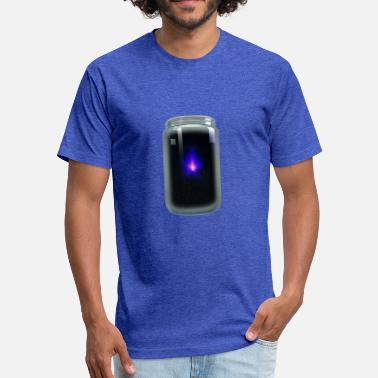 Blue Light Blue Light - Unisex Poly Cotton T-Shirt