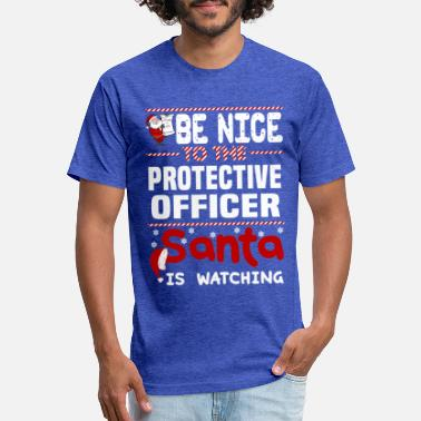 Protective Protective Officer - Unisex Poly Cotton T-Shirt