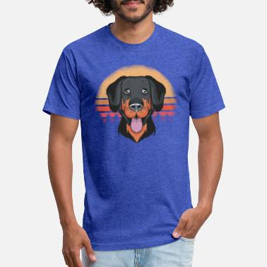 Rottweiler Puppy Gifts - Unisex Poly Cotton T-Shirt