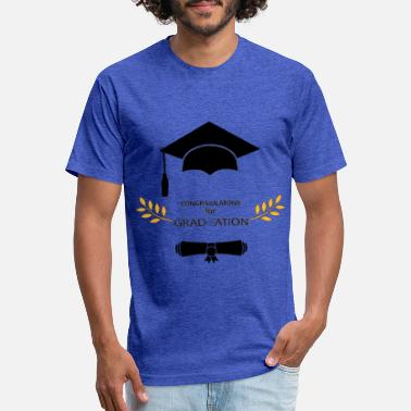 Congratulations congratulations for Graduate School and university - Unisex Poly Cotton T-Shirt