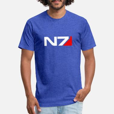 Effect Mass Effect N7 - Unisex Poly Cotton T-Shirt