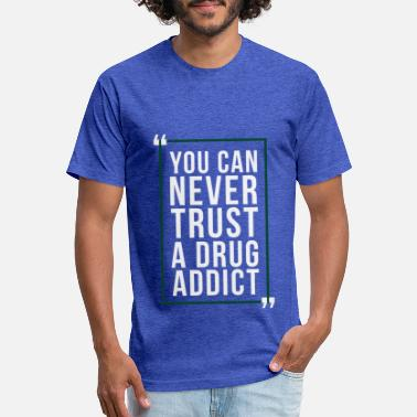 Walter White never trust - Unisex Poly Cotton T-Shirt