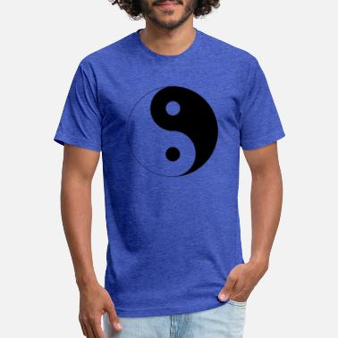 Yin yang gift idea gift present - Unisex Poly Cotton T-Shirt