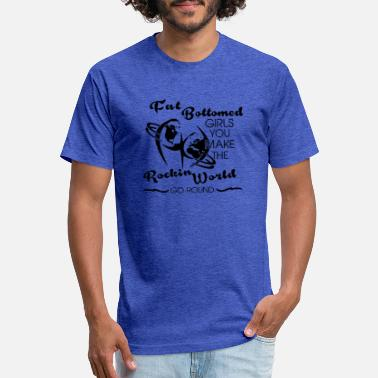 Fat Fat Bottomed Girls - Unisex Poly Cotton T-Shirt