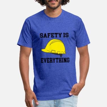 Safety Helmet safety is everything - Unisex Poly Cotton T-Shirt