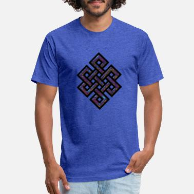 Endless Endless Knot - Gasoline - Unisex Poly Cotton T-Shirt