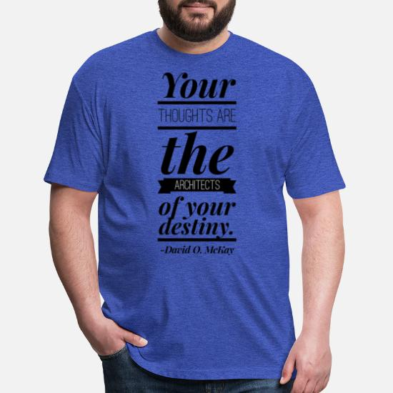 c2720ec72919 Your Thoughts Create Destiny Unisex Poly Cotton T-Shirt | Spreadshirt