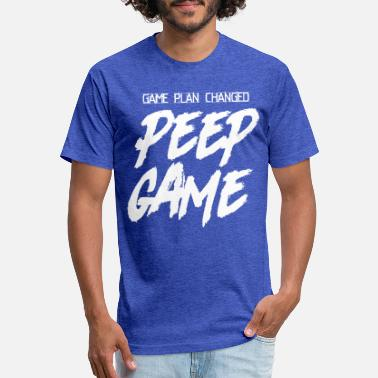 PEEP GAME - Unisex Poly Cotton T-Shirt