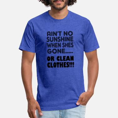f91fe138 Clean Funny or clean clothes - Unisex Poly Cotton T-Shirt
