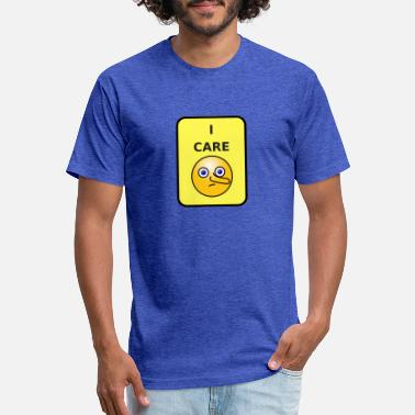 I Care - Unisex Poly Cotton T-Shirt