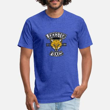 Leicester Leicester Foxes - Unisex Poly Cotton T-Shirt