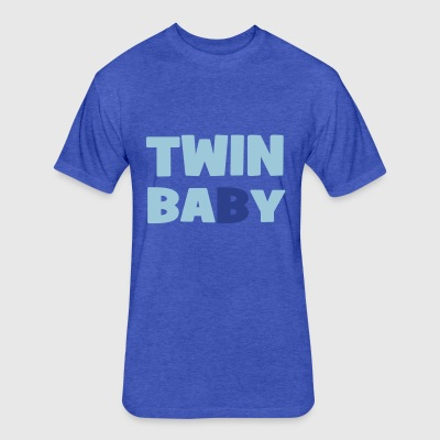 twins - Fitted Cotton/Poly T-Shirt by Next Level