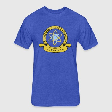 Midtown School of Science & Tachnology - Fitted Cotton/Poly T-Shirt by Next Level