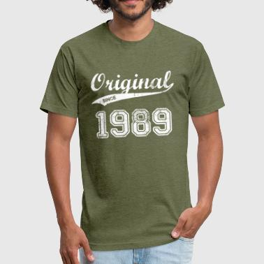 1989 Gift 1989 - Fitted Cotton/Poly T-Shirt by Next Level