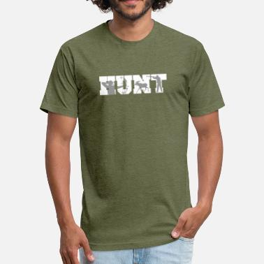 Hunting Camp Hunt Hunting Silhouettes Hunter - Unisex Poly Cotton T-Shirt