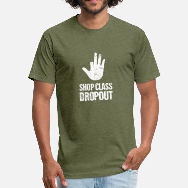 Fingers Funny Amputated Missing Finger Amputee Gift - Fitted Cotton/Poly T-Shirt by Next Level