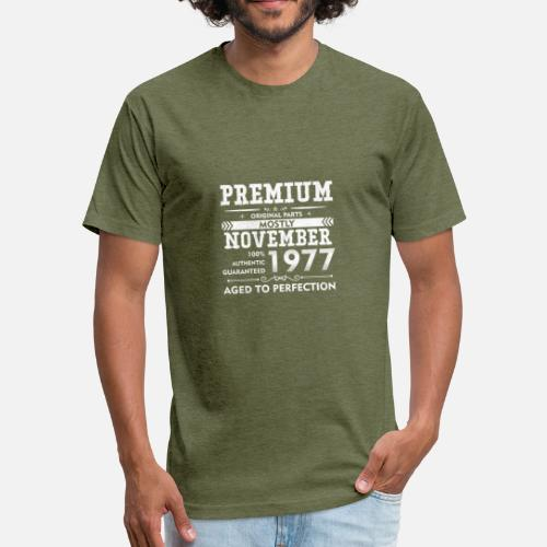 Aged To Perfection Mens 1977 T-Shirt Born 41st 41 Year Birthday Age Present Gift