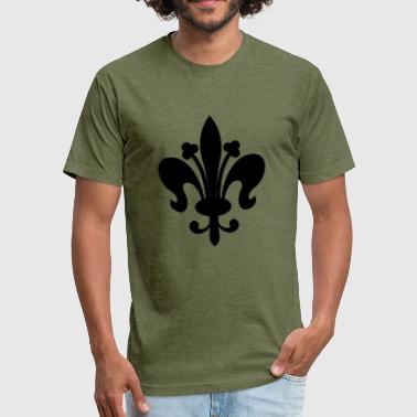royal - Fitted Cotton/Poly T-Shirt by Next Level