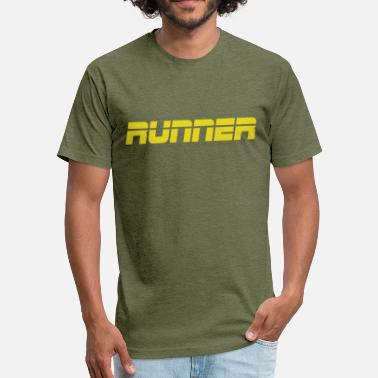 Runner Stuff RUNNER - Fitted Cotton/Poly T-Shirt by Next Level