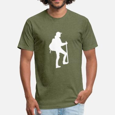 Struggle For Freedom Mountaineer struggle - Fitted Cotton/Poly T-Shirt by Next Level