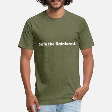 Safe the Rainforest - Unisex Poly Cotton T-Shirt
