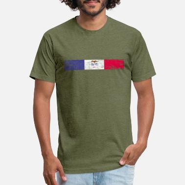 Iowa - Unisex Poly Cotton T-Shirt