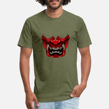 Red Samurai Red samurai mask - Unisex Poly Cotton T-Shirt