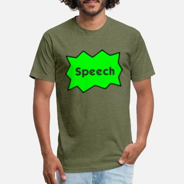 Speech Balloon Speech Bubble - Unisex Poly Cotton T-Shirt