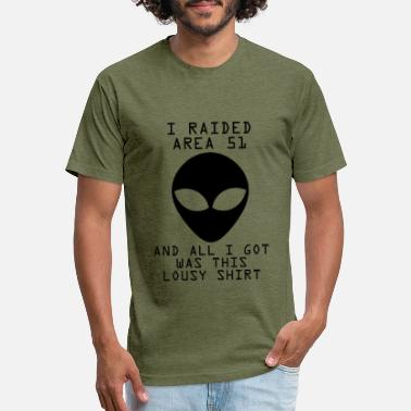 Lousy Area 51 Shirts - Unisex Poly Cotton T-Shirt