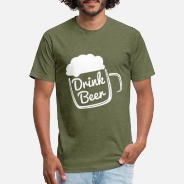 Cool Drink Cool Drink Beer - Unisex Poly Cotton T-Shirt