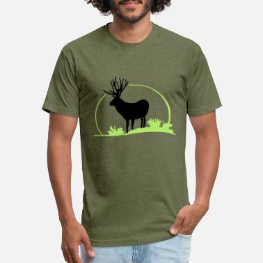 Roe Deer wild deer,red deer,roe deer,animal,Wilderness, - Unisex Poly Cotton T-Shirt