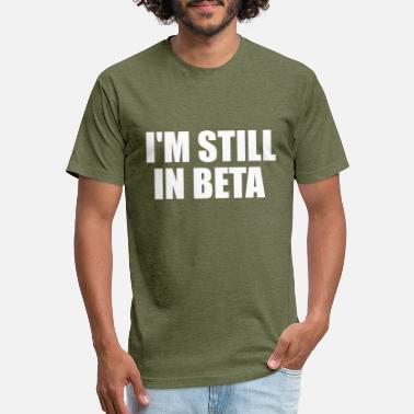 Beta in beta - Unisex Poly Cotton T-Shirt