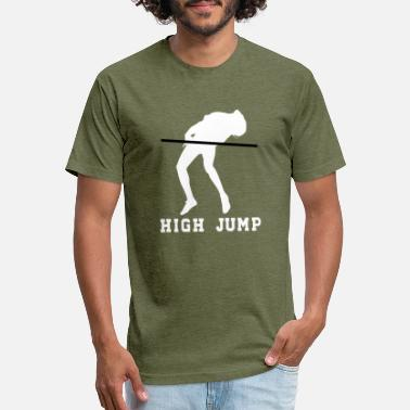 High Jump High Jump - Unisex Poly Cotton T-Shirt