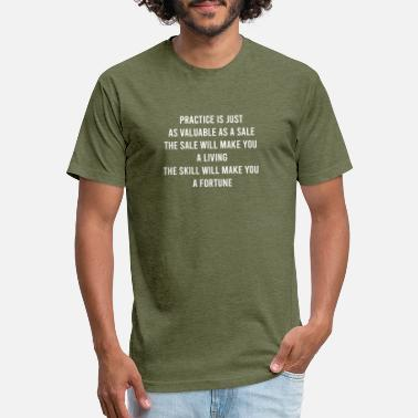 Sales Practice Is Just As Valuable As A Sale - Unisex Poly Cotton T-Shirt