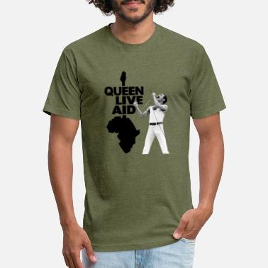 Aid queen live aid - Unisex Poly Cotton T-Shirt