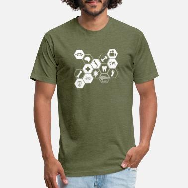 a doctors perspective honeycomb geometric - Unisex Poly Cotton T-Shirt