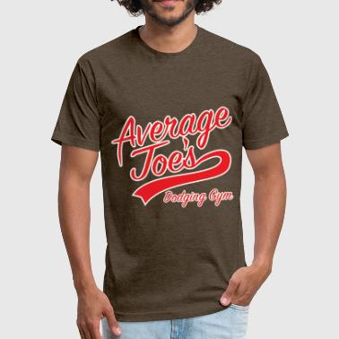 Average Joes Gymnasium - Fitted Cotton/Poly T-Shirt by Next Level