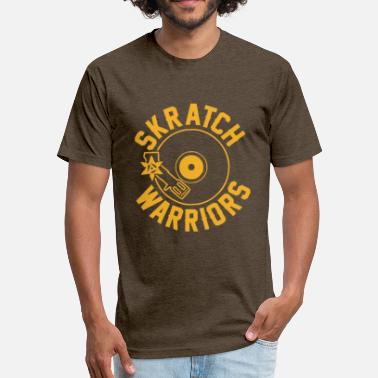 Skratch Skratch wariors - Fitted Cotton/Poly T-Shirt by Next Level