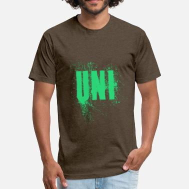 Uni Uni - Fitted Cotton/Poly T-Shirt by Next Level