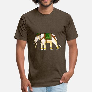 Africa Asia Africa Animal Asia Decorated 1298151 - Fitted Cotton/Poly T-Shirt by Next Level