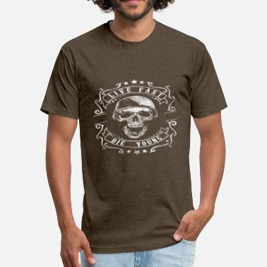 Good Die Young Live Fast Die Young - Unisex Poly Cotton T-Shirt