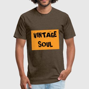 Vintage Soul VINTAGE SOUL - Fitted Cotton/Poly T-Shirt by Next Level