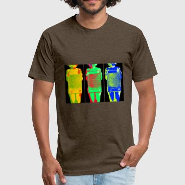 Sixpack Sixpack - Fitted Cotton/Poly T-Shirt by Next Level