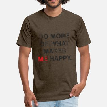 I Love Me Too Think of me and show me, too. - Fitted Cotton/Poly T-Shirt by Next Level