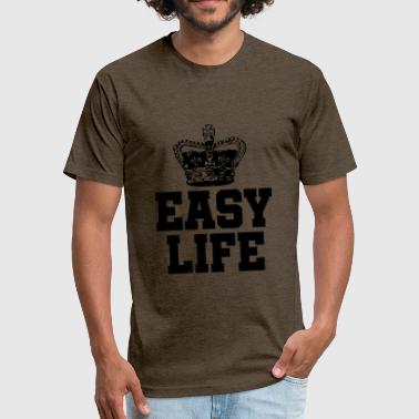 Easy Life - Fitted Cotton/Poly T-Shirt by Next Level