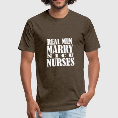 Nicu nurses - Fitted Cotton/Poly T-Shirt by Next Level