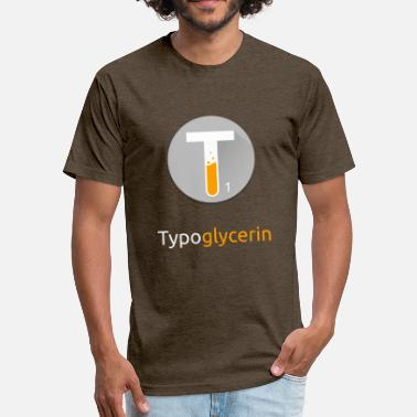 Bestselling Typoglycerin Logo Bestsellers - Fitted Cotton/Poly T-Shirt by Next Level