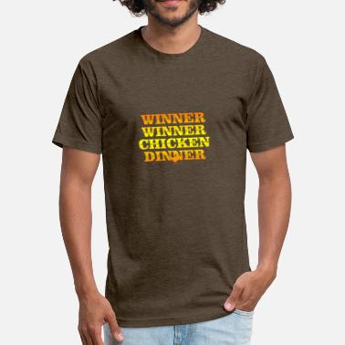 Winner Chicken Dinner Winner Winner chicken Dinner - Fitted Cotton/Poly T-Shirt by Next Level