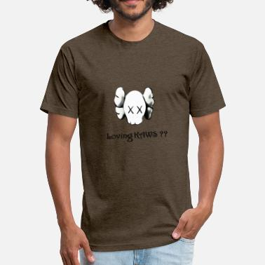 Kaw kaws head KAWS Companion for all Kaws Lover - Fitted Cotton/Poly T-Shirt by Next Level